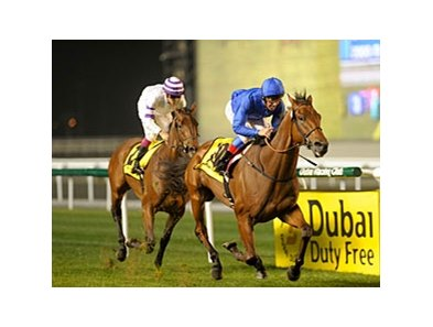 Whispering Gallery wins the 2011 DRC Gold Cup.