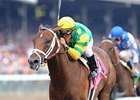 "Palace Malice <br><a target=""blank"" href=""http://photos.bloodhorse.com/AtTheRaces-1/at-the-races-2012/22274956_jFd5jM#!i=2009920547&k=DhR5jsP"">Order This Photo</a>"