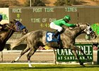"California Flag powers to a repeat win in the Morvich Stakes on opening day of the Oak Tree meet at Santa Anita.<br><a target=""blank"" href=""http://www.bloodhorse.com/horse-racing/photo-store?ref=http%3A%2F%2Fpictopia.com%2Fperl%2Fgal%3Fprovider_id%3D368%26ptp_photo_id%3D8523823%26ref%3Dstory"">Order This Photo</a>"