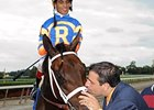 "Mike Repole and Uncle Mo<br><a target=""blank"" href=""http://www.bloodhorse.com/horse-racing/photo-store?ref=http%3A%2F%2Fpictopia.com%2Fperl%2Fgal%3Fprovider_id%3D368%26ptp_photo_id%3D9696041%26ref%3Dstory"">Order This Photo</a>"