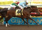 "Sir Whimsey outfinishes Fairbanks to take the Gulfstream Park Handicap.<br><a target=""blank"" href=""http://www.bloodhorse.com/horse-racing/photo-store?ref=http%3A%2F%2Fpictopia.com%2Fperl%2Fgal%3Fprovider_id%3D368%26ptp_photo_id%3D3722719%26ref%3Dstory"">Order This Photo</a>"