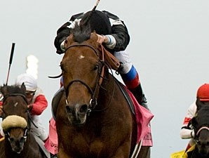 Joshua Tree wins the Pattison Canadian International Stakes.