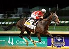"Fort Larned dominates the Stephen Foster at Churchill Downs.<br><a target=""blank"" href=""http://photos.bloodhorse.com/AtTheRaces-1/at-the-races-2013/27257665_QgCqdh#!i=2577275009&k=GPWvsWS"">Order This Photo</a>"