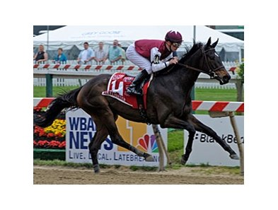 "Skylighter and Julien Leparoux score an easy win in the Allaire duPont Distaff.<br><a target=""blank"" href=""http://www.bloodhorse.com/horse-racing/photo-store?ref=http%3A%2F%2Fpictopia.com%2Fperl%2Fgal%3Fprovider_id%3D368%26ptp_photo_id%3D8117165%26ref%3Dstory"">Order This Photo</a>"