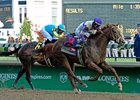 "Duel classic winner I'll Have Another <br><a target=""blank"" href=""http://photos.bloodhorse.com/TripleCrown/2012-Triple-Crown/Kentucky-Derby-138/22650475_kRGdZF#!i=1831523251&k=CrgHdGF"">Order This Photo</a>"