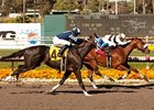 Camp Victory wins the Los Angeles Handicap.