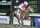 Bern Identity drew the rail in the Delta Downs Jackpot.
