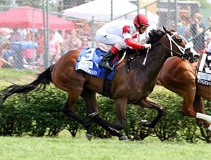 Stephanie's Kitten wins the 2012 Edgewood.
