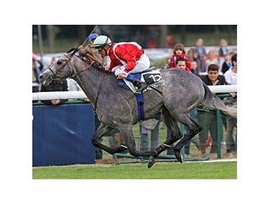Tin Horse wins the Poule d'Essai des Poulains