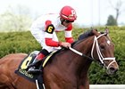 Dark Cove won the Elkorn by 4 1/4 lengths on April 26.