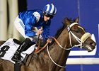 Soft Falling Rain puts his unbeaten record on the line in the Godolphin Mile.