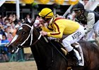 "Rachel Alexandra and Calvin Borel take the Preakness.<br><a target=""blank"" href=""http://www.bloodhorse.com/horse-racing/photo-store?ref=http%3A%2F%2Fpictopia.com%2Fperl%2Fgal%3Fprovider_id%3D368%26ptp_photo_id%3D8117909%26ref%3Dstory"">Order This Photo</a>"