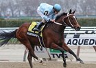 "Cluster of Stars rolls again in the Distaff Handicap.<br><a target=""blank"" href=""http://photos.bloodhorse.com/AtTheRaces-1/at-the-races-2013/27257665_QgCqdh#!i=2455222018&k=zsrQjQ7"">Order This Photo</a>"