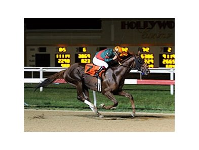 Toby's Corner captured the Mountainview Handicap at Penn National Race Course July 28 by nearly four lengths.