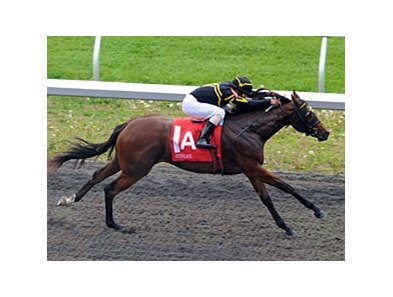 "Gypsy Robin cruises home in her first start at Keeneland.<br><a target=""blank"" href=""http://www.bloodhorse.com/horse-racing/photo-store?ref=http%3A%2F%2Fpictopia.com%2Fperl%2Fgal%3Fprovider_id%3D368%26ptp_photo_id%3D9500890%26ref%3Dstory"">Order This Photo</a>"