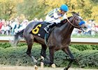 The Factor dominates the Rebel Stakes at Oaklawn.