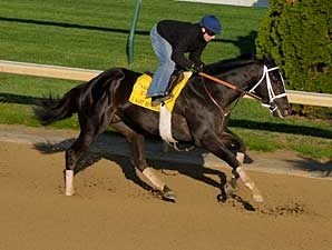 I Want Revenge works at Churchill Downs on April 21