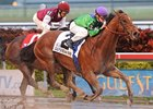 "Custom for Carlos pulls away in the Mr. Prospector Stakes.<br><a target=""blank"" href=""http://www.bloodhorse.com/horse-racing/photo-store?ref=http%3A%2F%2Fpictopia.com%2Fperl%2Fgal%3Fprovider_id%3D368%26ptp_photo_id%3D8735845%26ref%3Dstory"">Order This Photo</a>"