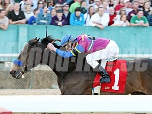Freedom Star wins the 2010 Azeri.