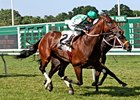 Change of Command set a Monmouth Park new course record for five furlongs on turf in theElkwood Stakes.