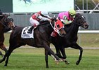 Effie Trinket, King Kreesa Score on Turf