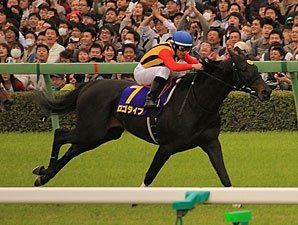 Logotype Wins Japanese Guineas in Record Time
