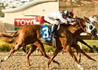 "Unbeaten Midshipman heads a field of 10 in the Norfolk Breeders Cup Stakes.<br><a target=""blank"" href=""http://www.bloodhorse.com/horse-racing/photo-store?ref=http%3A%2F%2Fpictopia.com%2Fperl%2Fgal%3Fprovider_id%3D368%26ptp_photo_id%3D5777088%26ref%3Dstory"">Order This Photo</a>"