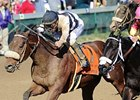 2011 sprint champion Amazombie takes on The Factor in the San Carlos.
