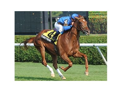 "Fancy Point won leg 4 of the Pick 6, the P. G. Johnson Stakes. <br><a target=""blank"" href=""http://www.bloodhorse.com/horse-racing/photo-store?ref=http%3A%2F%2Fpictopia.com%2Fperl%2Fgal%3Fprovider_id%3D368%26ptp_photo_id%3D9167358%26ref%3Dstory"">Order This Photo</a>"
