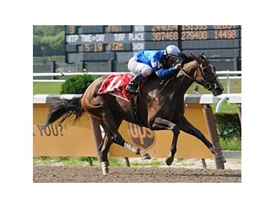 "Music Note is headed to the Aug. 16 Alabama (gr. I). <br><a target=""blank"" href=""http://www.bloodhorse.com/horse-racing/photo-store?ref=http%3A%2F%2Fpictopia.com%2Fperl%2Fgal%3Fprovider_id%3D368%26ptp_photo_id%3D5177017%0D%0A%26ref%3Dstory"">Order This Photo</a>"