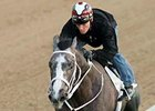 Old Fashioned put in his final work for the Arkansas Derby on April 6 at Oaklawn Park.