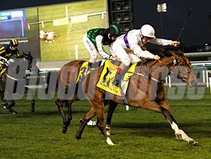 Crying Lightening wins the 2011 Dubai Duty Free Tennis Championships.