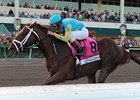 "Fountain of Youth winner Eskendereya will not run in the Florida Derby.<br><a target=""blank"" href=""http://www.bloodhorse.com/horse-racing/photo-store?ref=http%3A%2F%2Fpictopia.com%2Fperl%2Fgal%3Fprovider_id%3D368%26ptp_photo_id%3D8802807%26ref%3Dstory"">Order This Photo</a>"