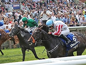 Slade Power wins the 2014 July Cup.