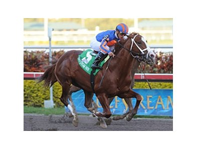 "Munnings won the Gulfstream Park Sprint Championship on February 13.<br><a target=""blank"" href=""http://www.bloodhorse.com/horse-racing/photo-store?ref=http%3A%2F%2Fpictopia.com%2Fperl%2Fgal%3Fprovider_id%3D368%26ptp_photo_id%3D8792400%26ref%3Dstory"">Order This Photo</a>"