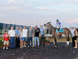 Kyma wins the 2012 Pennsylvania Governor's Cup.
