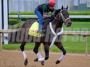 Ride On Curlin - Churchill Downs, April 25, 2014.