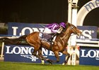 St Nicholas Abbey rolls home to win the Dubai Sheema Classic.