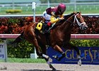 "Travelin Man won the April 3 Swale by two lengths at Gulfstream Park.<br><a target=""blank"" href=""http://www.bloodhorse.com/horse-racing/photo-store?ref=http%3A%2F%2Fpictopia.com%2Fperl%2Fgal%3Fprovider_id%3D368%26ptp_photo_id%3D9473902%26ref%3Dstory"">Order This Photo</a>"