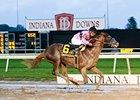 Power Broker delivers victory in the Indiana Derby.