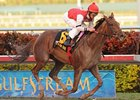 "Sassy Image kicked off her 3-year-old campaign with a victory in the Sweetest Chant Stakes at rainy Gulfstream Park.<br><a target=""blank"" href=""http://www.bloodhorse.com/horse-racing/photo-store?ref=http%3A%2F%2Fpictopia.com%2Fperl%2Fgal%3Fprovider_id%3D368%26ptp_photo_id%3D8747750%26ref%3Dstory"">Order This Photo</a>"