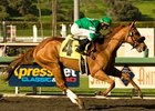 "Caracortado pulls away to win the Robert B. Lewis Stakes. <br><a target=""blank"" href=""http://www.bloodhorse.com/horse-racing/photo-store?ref=http%3A%2F%2Fpictopia.com%2Fperl%2Fgal%3Fprovider_id%3D368%26ptp_photo_id%3D8792441%26ref%3Dstory"">Order This Photo</a>"
