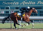 Mucho Macho Man worked 5 furlongs in 1:00 3/5 on Oct 26.