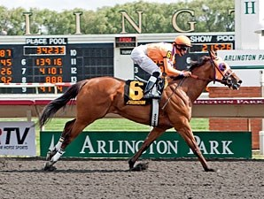 Third Chance wins the 2012 Isaac Murphy.