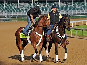 Goldencents - Churchill Downs, April 28, 2013.