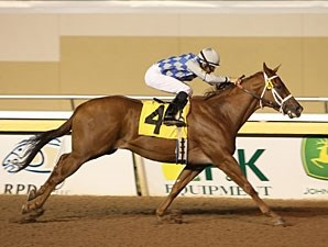 Gleaming wins the Allowance feature on October 15, 2010.