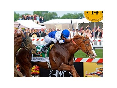 "Preakness winner Shackleford faces 7 in the Indiana Derby.<br><a target=""blank"" href=""http://www.bloodhorse.com/horse-racing/photo-store?ref=http%3A%2F%2Fpictopia.com%2Fperl%2Fgal%3Fprovider_id%3D368%26ptp_photo_id%3D9533971%26ref%3Dstory"">Order This Photo</a>"