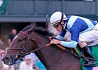 Aruna won the 2011 Spinster for trainer Graham Motion under jockey Ramon Dominguez.