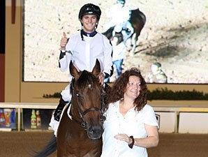 Alsvid wins the 2011 Kip Deville Stakes.