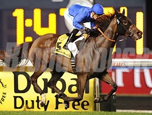Sajjhaa wins the 2013 Dubai Duty Free.